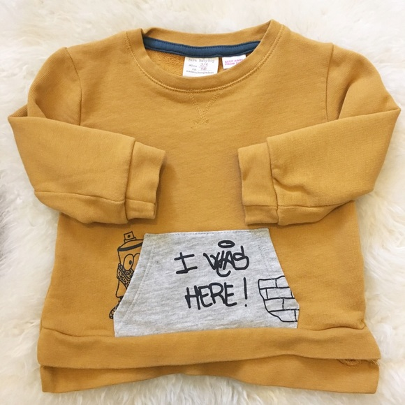50 Off Zara Other Zara Baby Boy Mustard Color