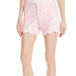 LILLY PULITZER SEA CUPS BUTTERCUP SHORTS
