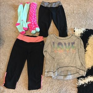 Danskin Pants - Women's Workout Tights Sweater Lot