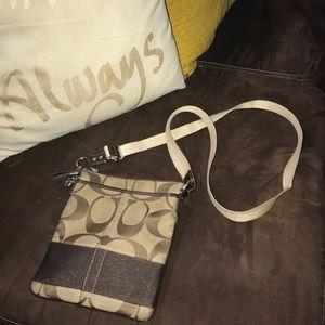 COACH small bag:)