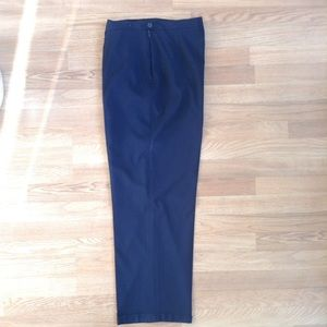 Louis Feraud Pants - Louis Feraud Navy Blue Dress Pants Size 16
