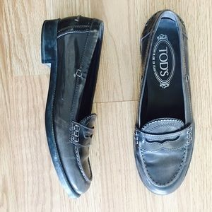 Tod's Shoes - Tods Waxed Loafer