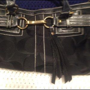 Authentic coach Hampton purse