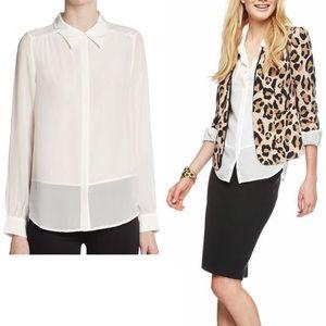 Joie Tops - Joie Sz S 100% Silk Mercina Shirt EUC!