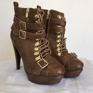 Dereon Shoes - Dereon • High Heel Booties