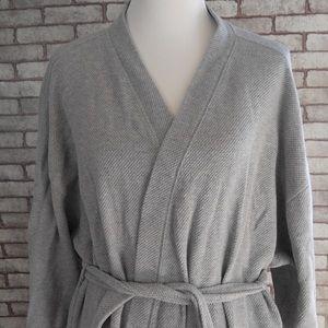 Garnet Hill Other - Garnet Hill sleepwear collection cotton long robe