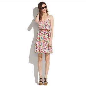 Madewell Dresses & Skirts - Madewell Silk Cami Dress in Flora