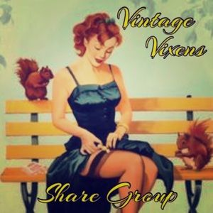 Vintage Other - Proud Member of the Vintage Vixens Share group!