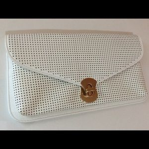 Urban Expressions Handbags - Urban Expressions Perforated Clutch