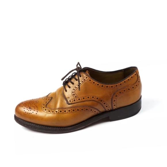 Gordon   Bros. Shoes   Gordon Bros 2318 Tan Levet Oxford Frame ... 58c1c30591