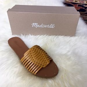 Madewell Shoes - Madewell Willa Slide Curry Powder