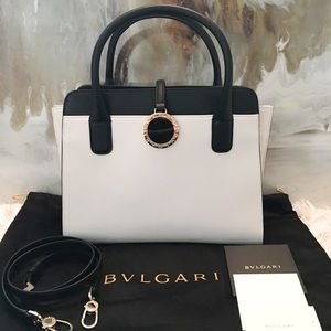 Bulgari Handbags - In Stores Bvlgari-Bvlgari Cover Flap Satchel Bag