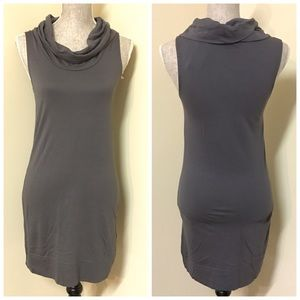Express Gray T-Shirt Dress
