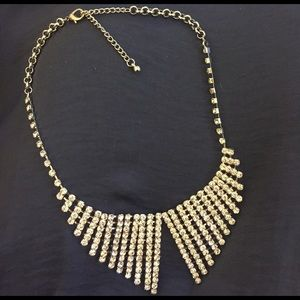 "Sparkle Bib ""Collar"" Necklace"