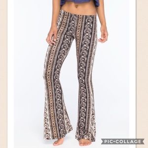 Other - h.i.p. Girls vertical floral flare pants