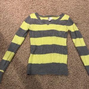 So  Sweaters - Striped sweater