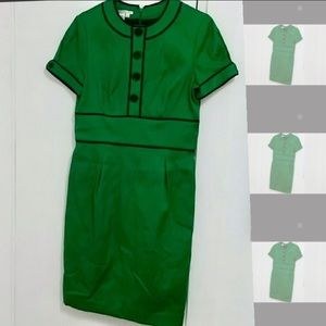 Green Retro-Style Maggy London Dress