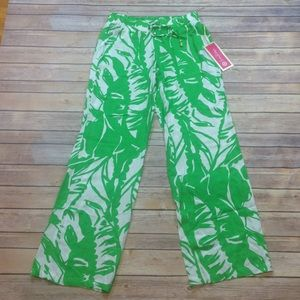 Lilly Pulitzer for Target Pants - NWT Lilly Pulitzer for Target Pants Green & White