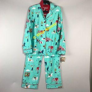 PJ Salvage Other - Cozy Fun Circus Flannel Cotton Pajamas PJ Salvage