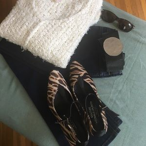 Donald J. Pliner Shoes - Leopard Heels - Donald J. Pliner Couture 7.5