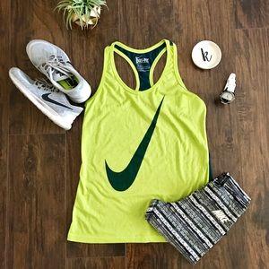 Nike Tops - Nike Swoosh Out Racerback Tank