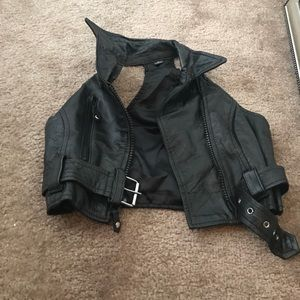 Tops - Leather vest