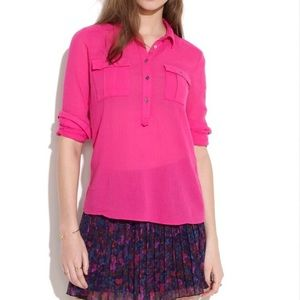 Madewell Pink Market Popover