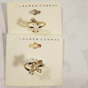 2 LC Lauren Conrad Rings