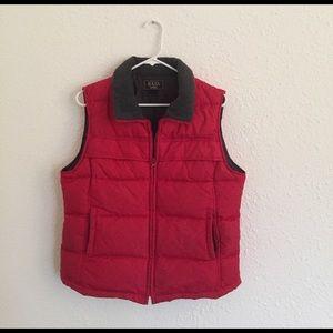 Bass puffy vest