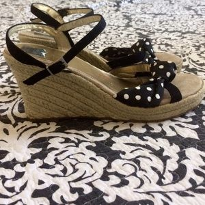 jcpenney Shoes - Polka Dot Wedges