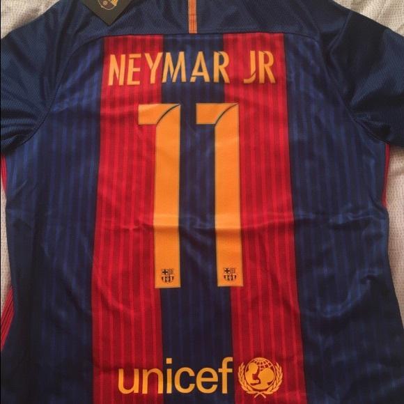 53620fe3e234 16 17 Barcelona Home Jersey Neymar Jr.  11. NWT. Nike