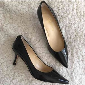 Ivanka Trump Shoes - NEW Ivanka Trump Patent Kitten Heels