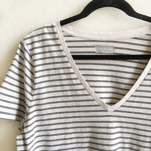 Pure Energy Tops - 💥New Listing! Casual Striped V-Neck