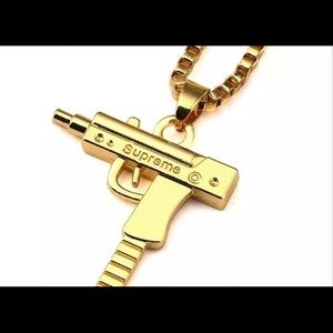Supreme Other - Gold Filled Uzi Supreme Chain Necklace