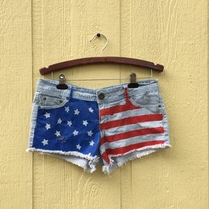 Cotton On Pants - USA Shorts by Cotton On