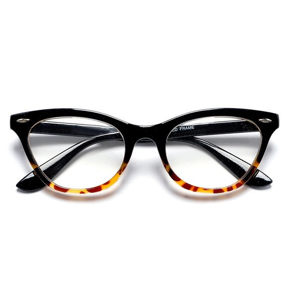 49% off Tory Burch Accessories - Cat Eye Shaped Clear Lens ...