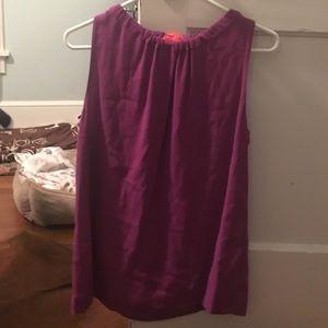 Purple Kate Spade shirt
