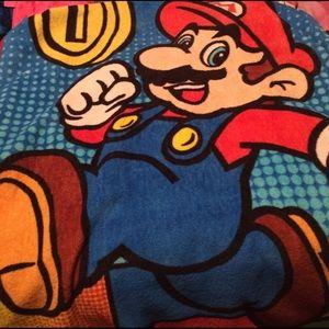 Nintendo Other - Super Mario Fleece Throw Blanket