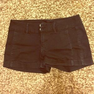 Express Black Shorts in size 2
