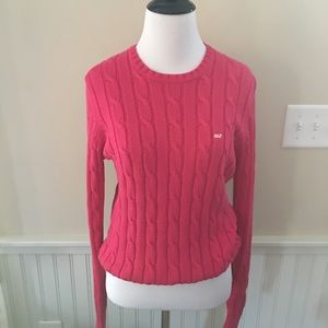 Vineyard Vines Sweaters - Vineyard Vines Women's Cable Knit Crewneck Sweater