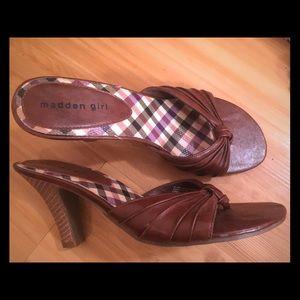Madden Girl Shoes - Madden girl by Steve Madden brown heels size 10