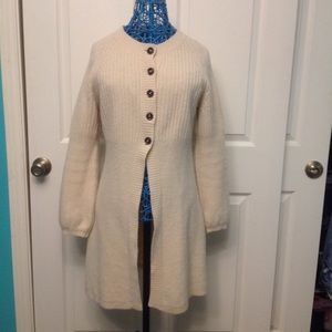 Boden Sweaters - Ivory Cardigan