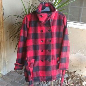 Ike Behar Jackets & Blazers - Ike Behar Women's  Fleece Coat