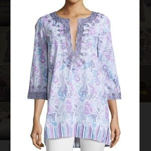 Calypso St. Barth Tops - Gorgeous Calypso tunic