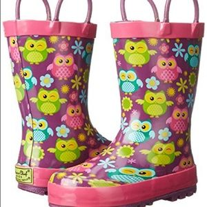 Western Chief Other - Cute Owl Rain Boots