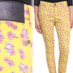 Iron Fist Pants - Iron Fist floral pants