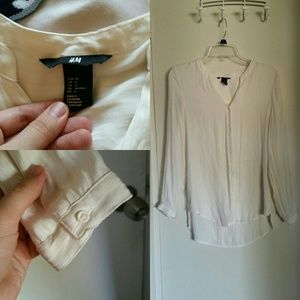 H & M Off-white Woman's Blouse