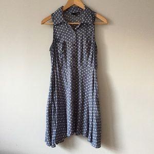 Ladakh Dresses & Skirts - LADAKH Dress Polka Dot Blue Summer Sundress 6