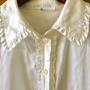 Escada Tops - Escada tuxedo shirt
