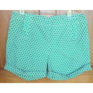 Boden Pants - Boden Polka Dot Button Front Shorts 16 PRICE DROP